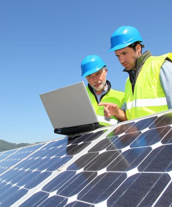 Servicing Solar Panels 2